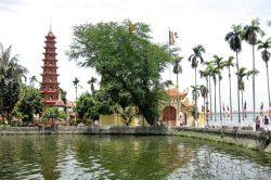 Vietnam Hanoi Temple