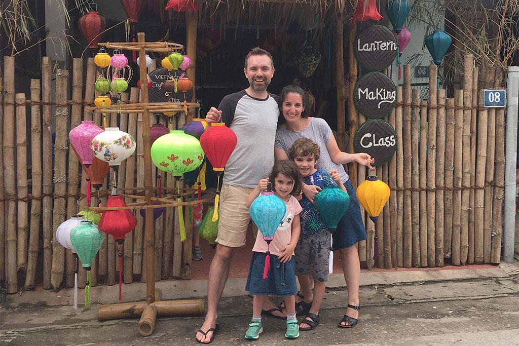 Vietnam Hoi An family