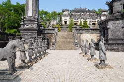 Vienam Mausoleum of Khai Dinh - Vietnam active family tour
