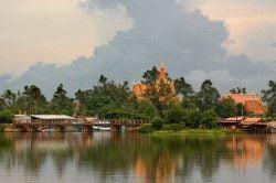 Kampot complex in Cambodia