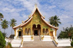 Royal Palace complex in Luang Prabang - Laos family adventure with Hanoi Voyages