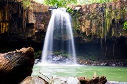 Sen Monorom Waterfall in Cambodia