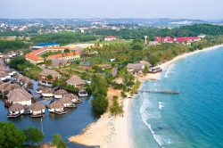 Sihanoukville Cambodia town