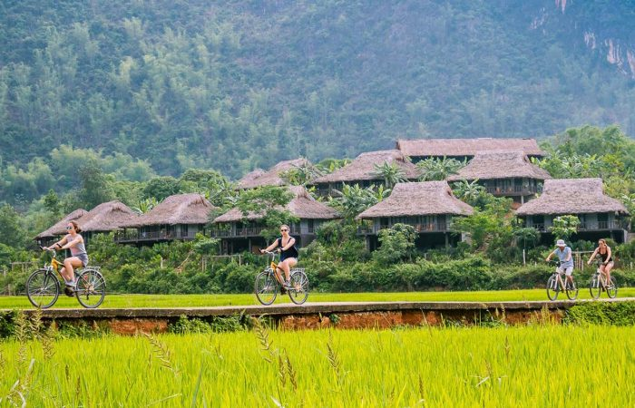 Vietnam holiday packages riding bike
