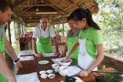 Thuy Bieu Cooking class in Hue - Vietnam Nature Tour with Hanoi Voyages