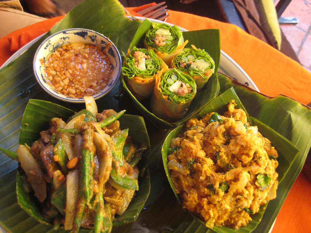 Dishes of Cambodian cuisine