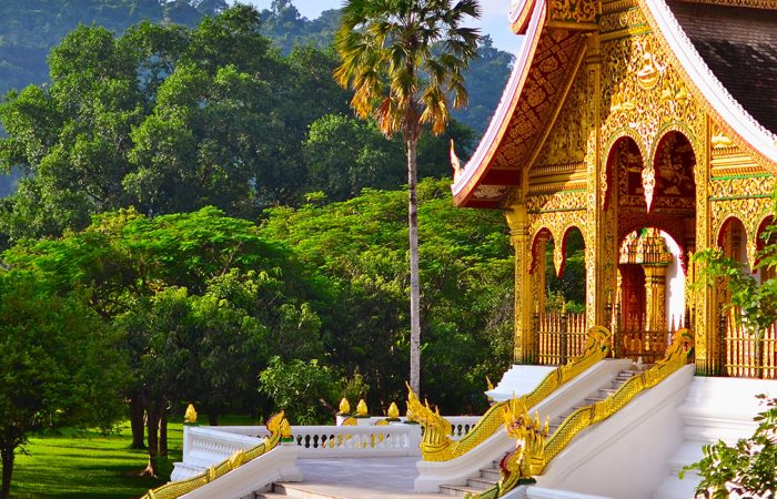 Discover Haw Pha Bang Temple in Hanoi Voyages' Laos tours