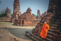 A part of Ayutthaya - Highlights of Thailand tour