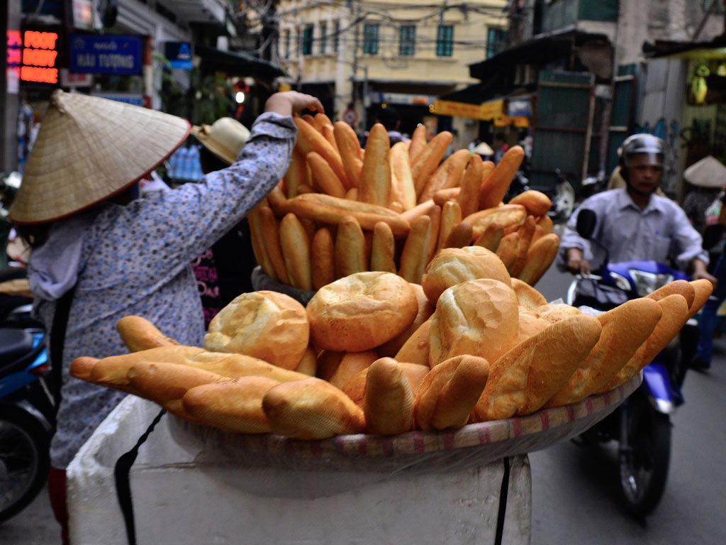 Banh mi - Vietnamese baguette