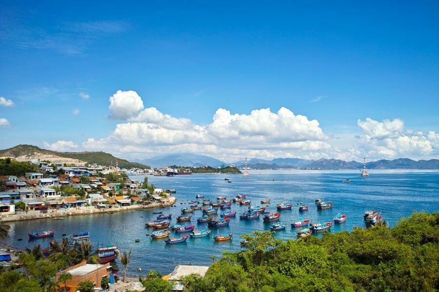 Sunny coastal resort of Nha Trang