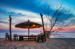 Beach on Phu Quoc with white sand