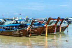 Phuket island boats decking
