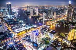 Enjoy floating markets, street food and nightlife in Bangkok