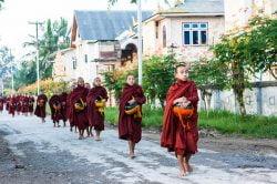 Nyaung Shwe monks myanmar