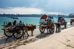 Riding in Thandwe Myanmar