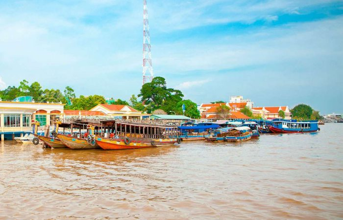 My Tho Mekong Delta Floating Village
