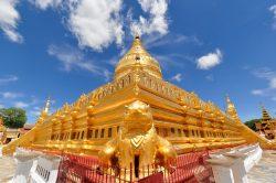 Shwezigon Pagoda in Myanmar