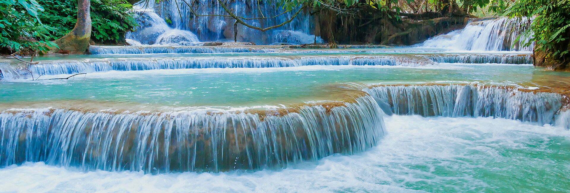 Kuangsi Waterfalls