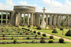 The Allied War Memorial Cemetery near Yangon - Myanmar tour of splendours