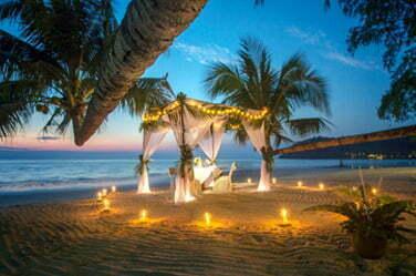 Tailor-made holidays beach sunset