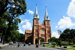 Saigon Notre Dame cathedral - Essential Vietnam tour