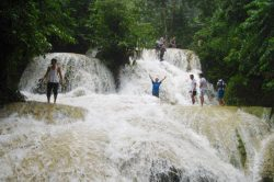 Hieu Waterfall in Pu Luong - Vietnam Nature Tour with Hanoi Voyages