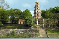 Thien Mu Pagoda in Hue - Essential Vietnam tour