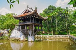 Visit One Pillar Pagoda (Hanoi) as part of the Essential Vietnam tour