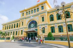 Saigon Central Post Office - Essential Vietnam tour