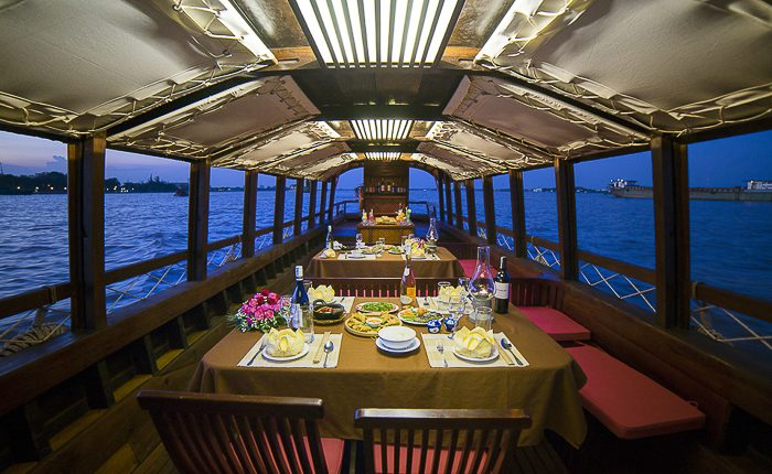 cruise boat mekong river