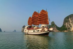 Halong Bay Luxury Cruise Red Dragon Junk