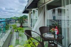 Hanoi Pearl Hotel room blacony