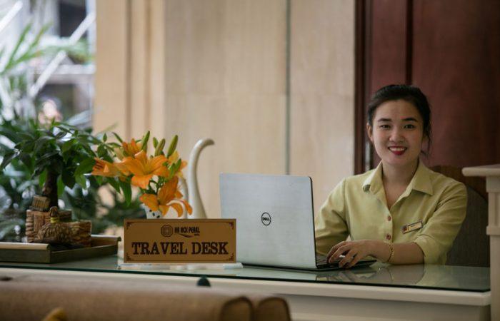 Hanoi Pearl Hotel tourdesk