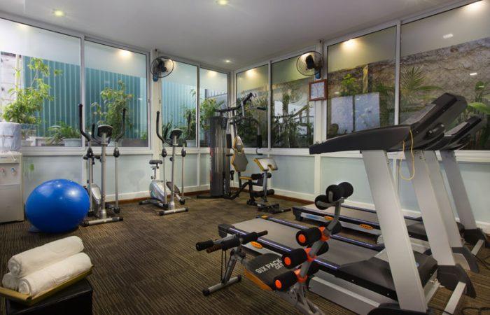 Hanoi Pearl hotel gym