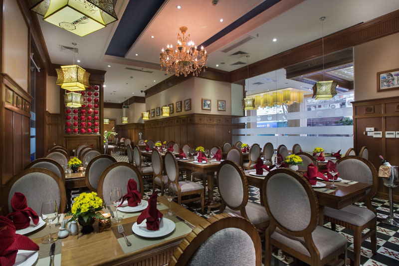 Hanoi Pearl Hotel restaurant