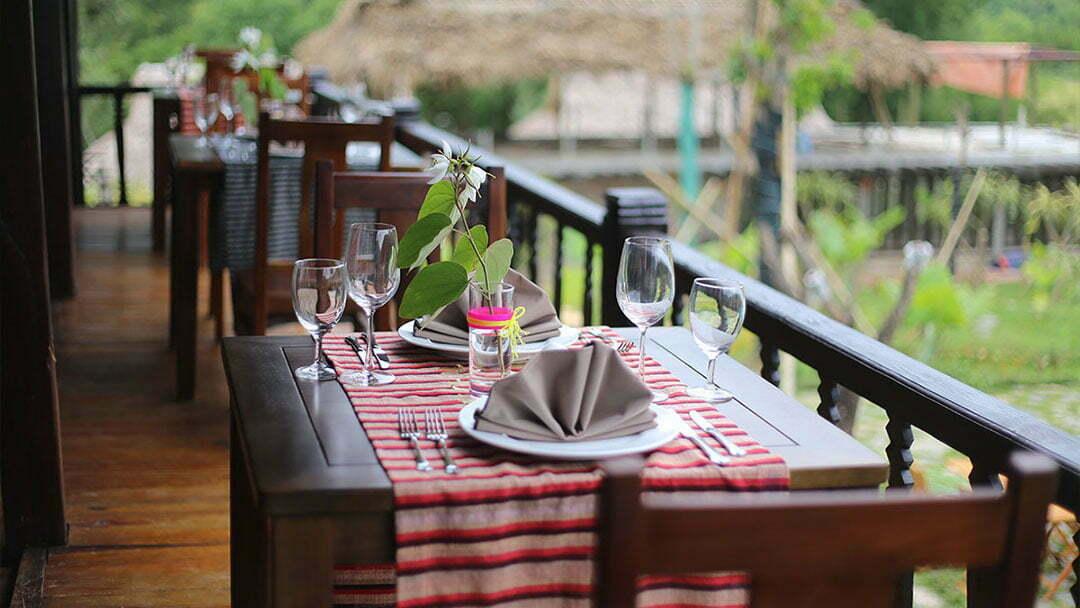 Mai Chau Ecolodge Restaurant