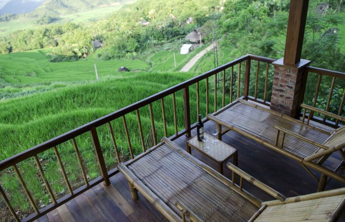 Pu Luong retreat suite view