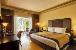 charming superior room garden view in luxury hotel in hue- La residence