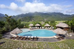 Mai Chau Ecolodge swimming pool