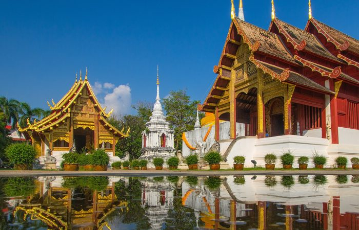 Beautiful Wat Phra Singh temple - Thailand in 8 days