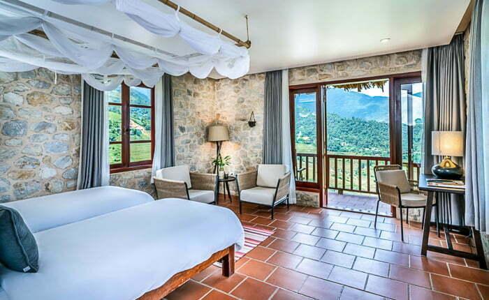 topas ecolodge room premium exccute bungalow