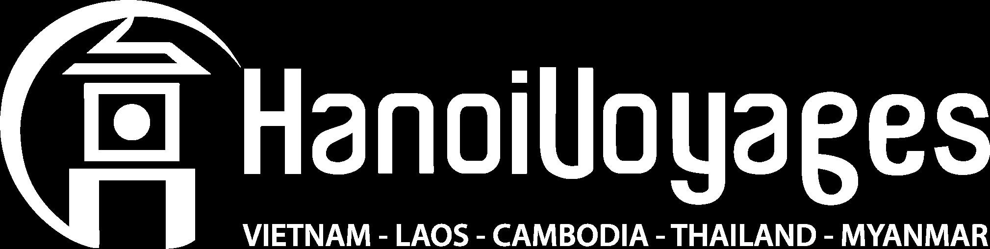 Hanoi Voyages White Logo