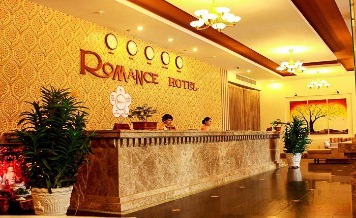 romance hotel hue reception