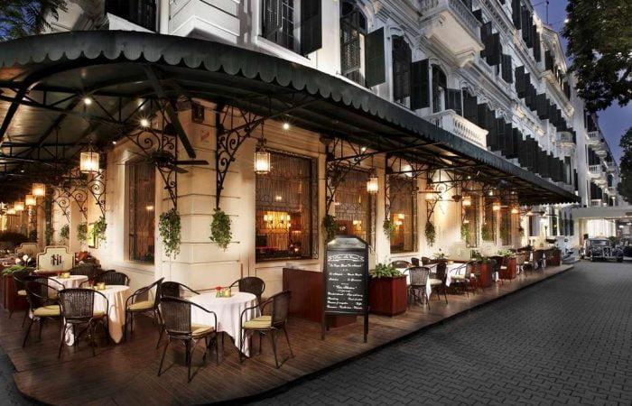 Sofitel Metropole Hanoi La Terrasse cafe