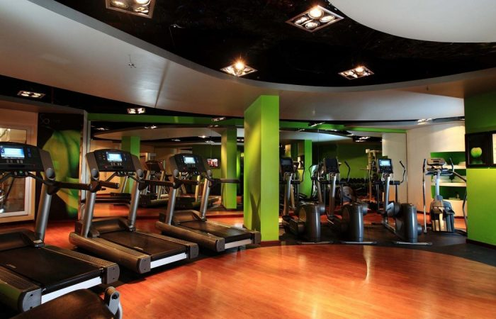Fitness gym room in Sofitel Metropole Hanoi