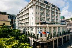 Hotel de l opera Hanoi outside facade
