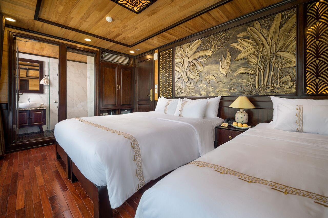 Junior suite balcony cabin perla dawn
