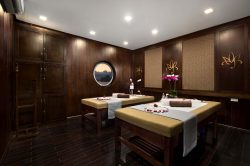 Let your mind wander in Orchid Cruise Spa on Lan Ha Bay