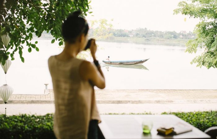 anantara resort view on river