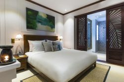 amazing deluxe room in Anantara resort in hoi an